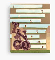 Define: TINGO Canvas Print