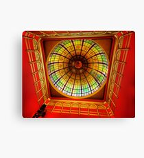 Glory On High -  The Great Dome The Queen Victoria Building - The HDR Experience Canvas Print
