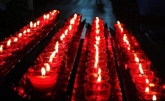 Candles by shortarcasart