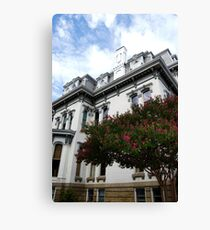 Mansard Roof Canvas Print