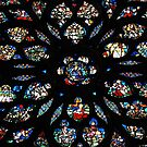 Rose Window At Sainte Chappell by AcePhotography