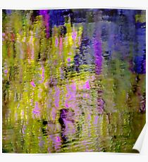 Reflections In a Pond #10b Poster