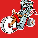 hot wheeling robot love 2 by theartofdang