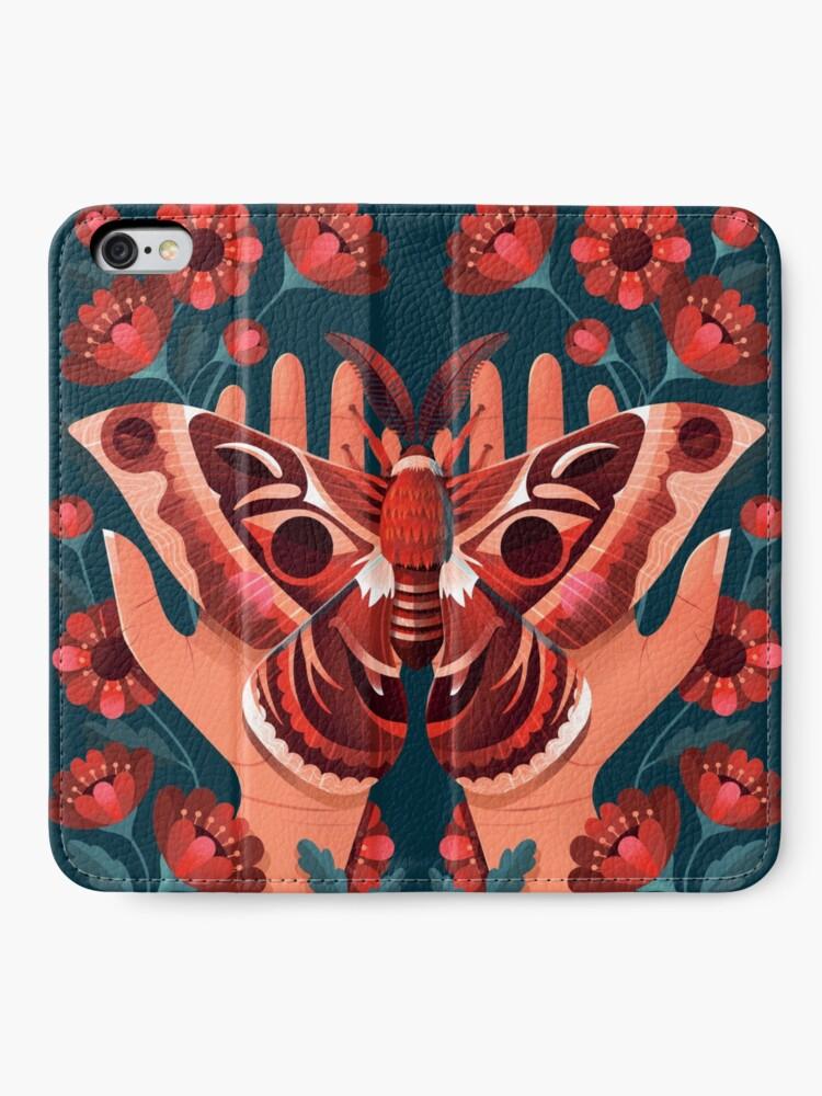 Alternate view of Moth iPhone Wallet