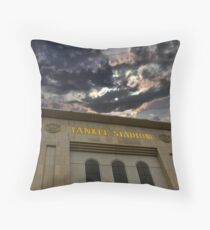 Yankee Stadium, NY Throw Pillow