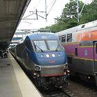 662 Amtrak Regional and 1706/1050 MBTA Commuter Rail by Eric Sanford