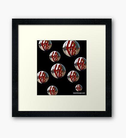 Ballons of Love Framed Print