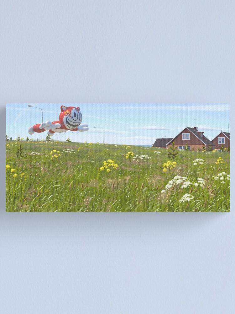Alternate view of När Bobby Boson Kom Till Stan Canvas Print