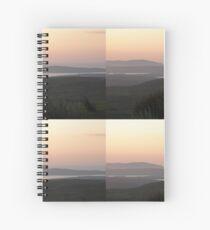 Soft evening light - Towards Downings Donegal  Ireland  Spiral Notebook
