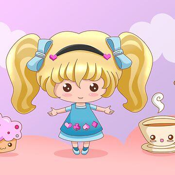 Alice Tea Time by bastetsama