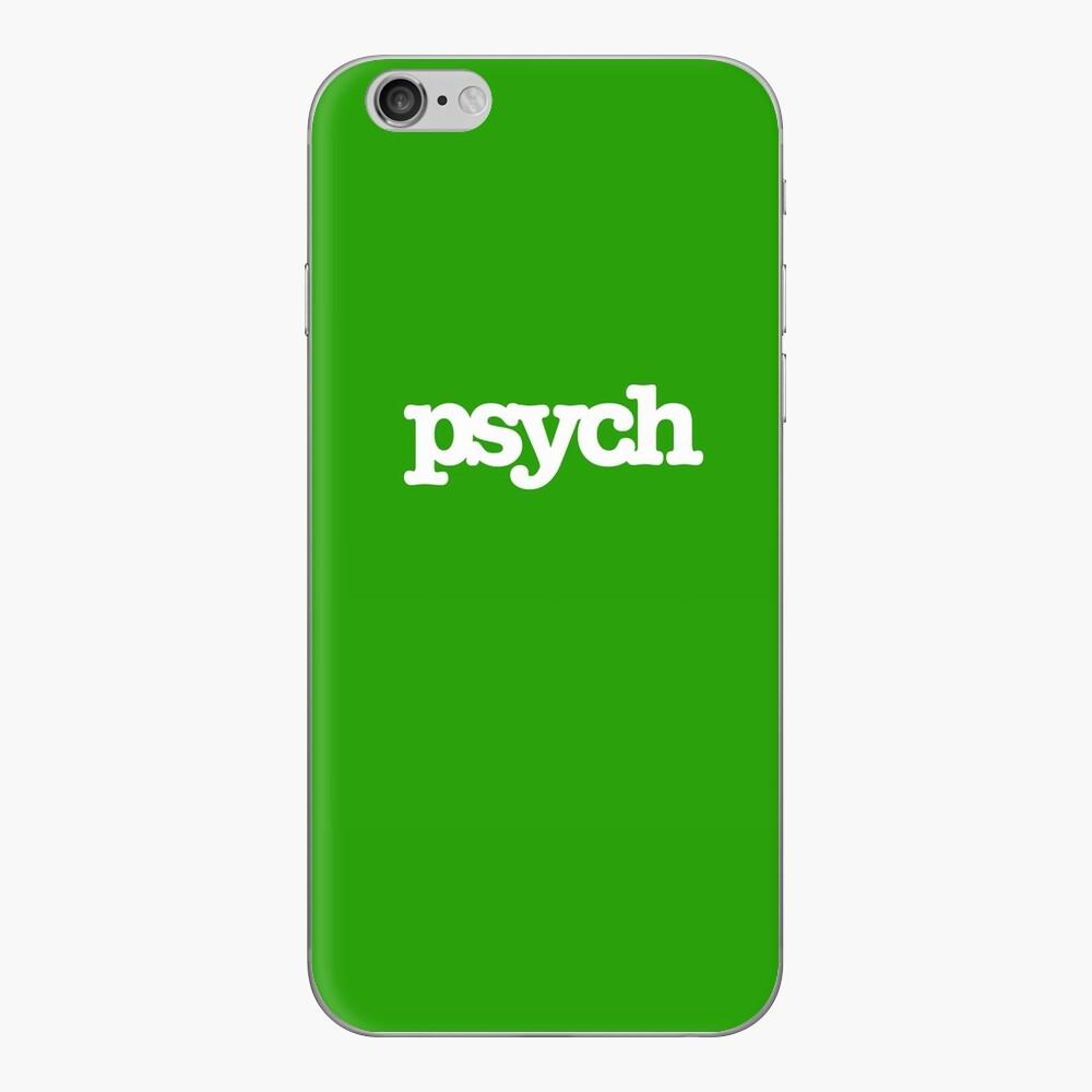 psych iPhone Klebefolie