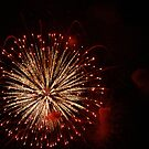 Fireworks I by Lorelle Gromus