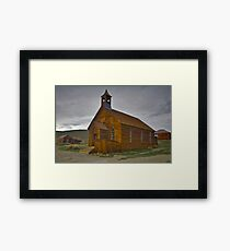 Bodie CA, The Old Bodie Church Framed Print