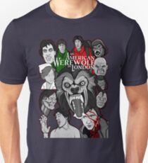 American Werewolf in London original collage art T-Shirt