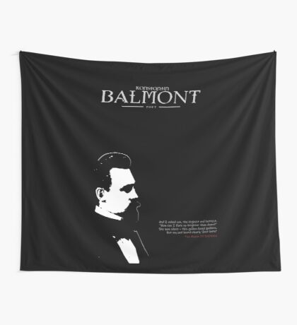 A Quote By Konstantin Balmont Wall Tapestry