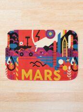 Raumfahrt zum Mars - Packen Sie Ihre ... Badematte