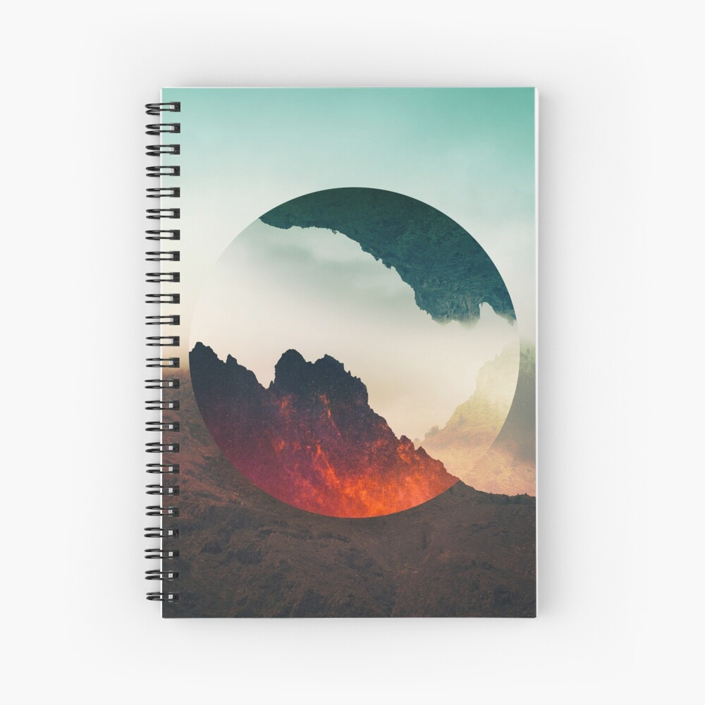 Second Sphere Spiral Notebook