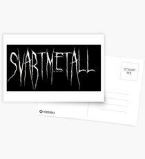 SVARTMETALL by die|site Postkarten
