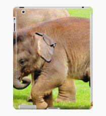 Stomping Baby Elephant iPad Case/Skin