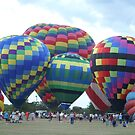Hot Air Balloons V by Lorelle Gromus