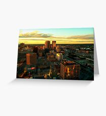 Winnipeg, from Above Greeting Card