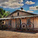 Wagon Wheel Home by Barbara Manis