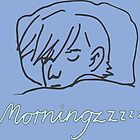 doodles of morning people #3 by johanneVN
