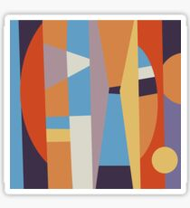 Abstract PN I Sticker