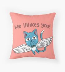Tongue Roll Throw Pillow