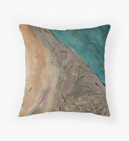 Untitled no2 : from series 'Our Precious Earth' Throw Pillow