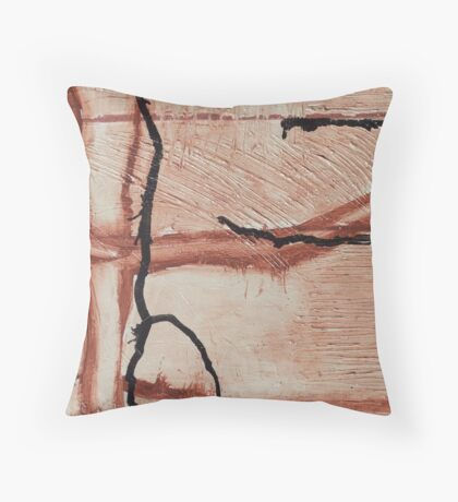 Untitled No 5: 'Our Precious Earth' series Throw Pillow