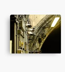 Welcome to London Underground Canvas Print