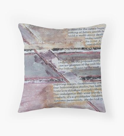 Untitled No6:   'Our Precious Earth' series Throw Pillow