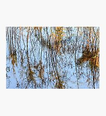 San Luis Rey River Abstract Photographic Print