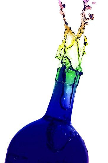 Bottle Art 2 by Brian Dodd