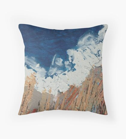 Untitled No7:  'Our Precious Earth' series  Throw Pillow