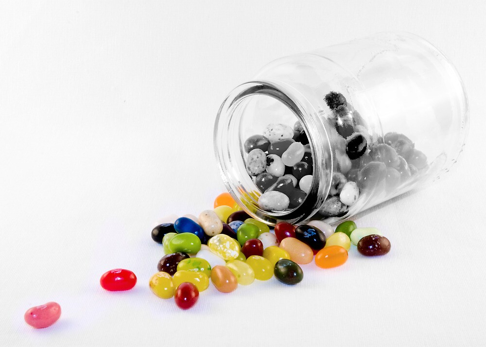 Jelly Belly Jar by DeansOnToast