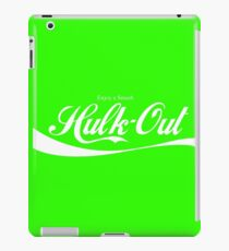 Enjoy Smash, Hulk-Out Logo iPad Case/Skin