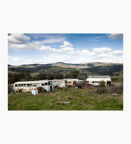 Graveyard of Buses #2 Photographic Print