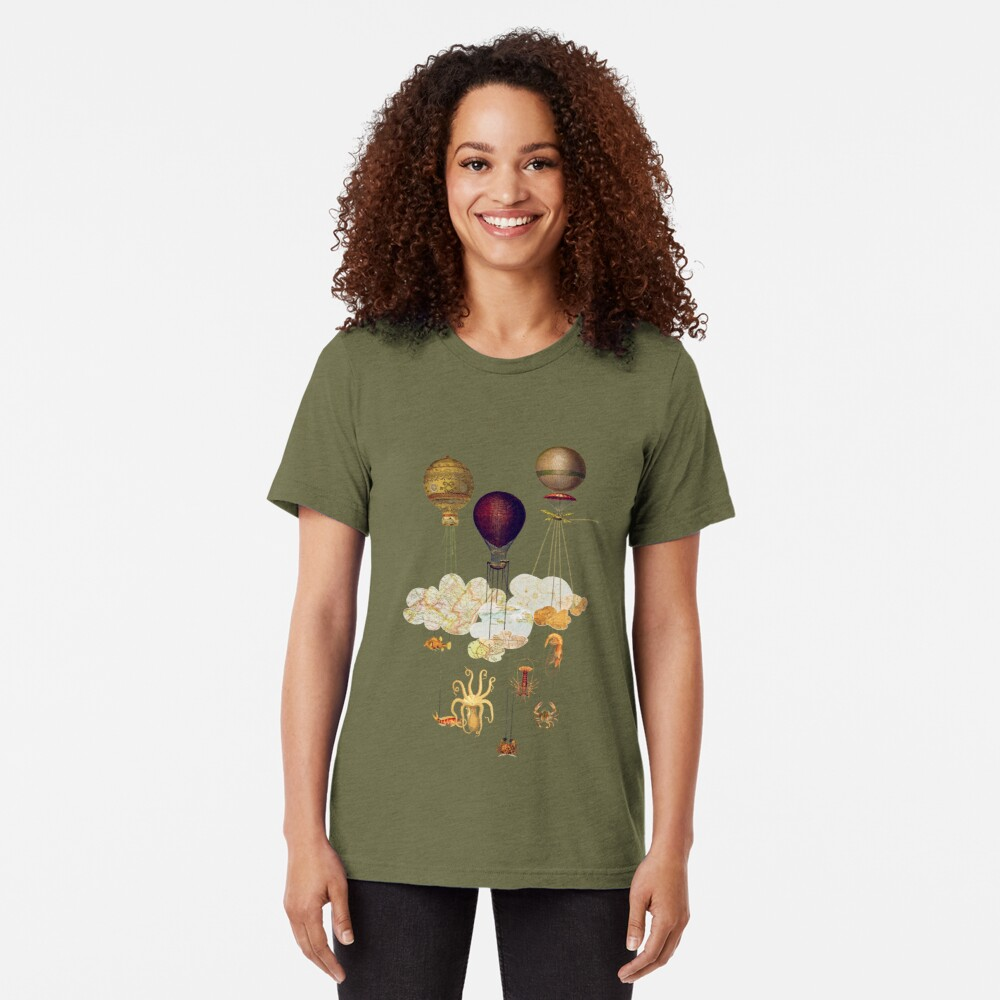 High in the Sky Tri-blend T-Shirt