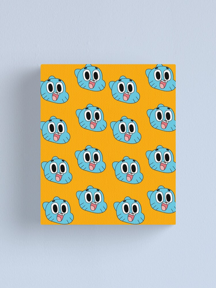 Alternate view of Happy Gumball Canvas Print