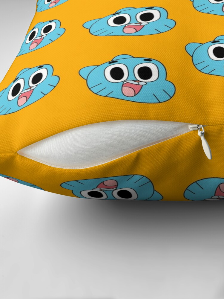 Alternate view of Happy Gumball Throw Pillow