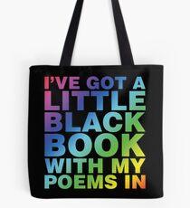 A Little Black Book Tote Bag
