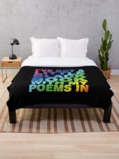 A Little Black Book Throw Blanket