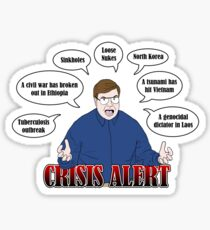 Community -- CRISIS ALERT! Sticker