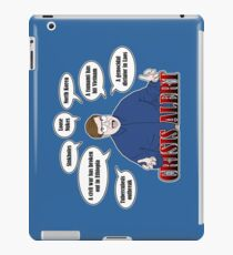 Community -- CRISIS ALERT! iPad Case/Skin