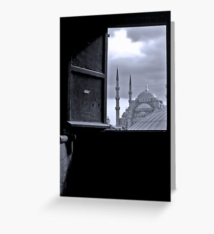 View of Istanbul Greeting Card