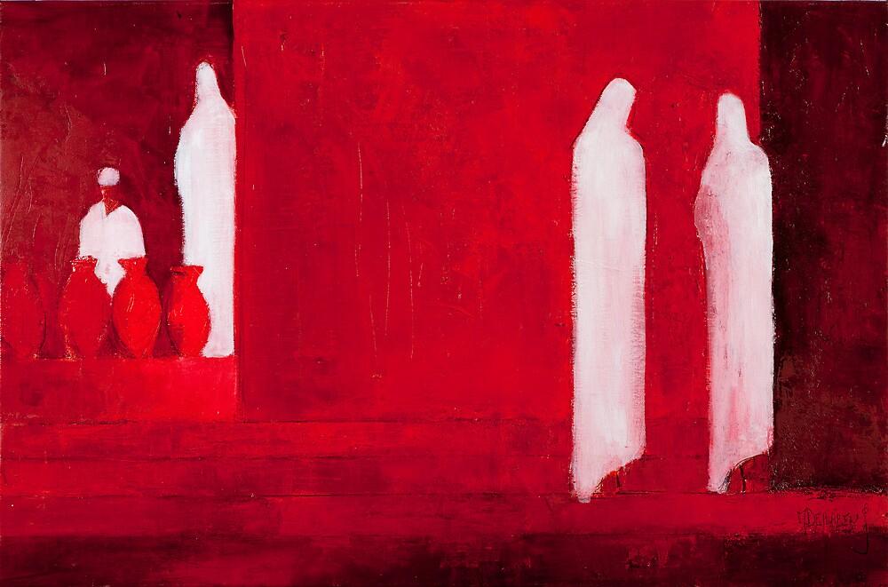 Red I by Marc Dehareng