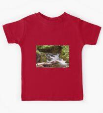 mini waterfall Kids Tee
