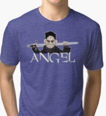 Angel - Smile Time Puppet Tri-blend T-Shirt